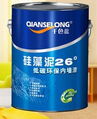 硅藻泥型乳胶漆