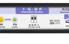 LCD动态地图屏
