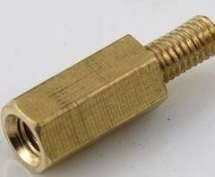 单头六角铜螺柱
