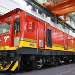 南非21E电力机车